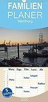 Hamburg - Familienplaner hoch (Wandkalender 2022 , 21 cm x 45 cm, hoch): Hamburgansichten (Monatskalender, 14 Seiten )