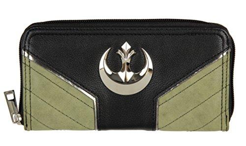 Star Wars Rogue One Rebel Jyn Zip Around Wallet