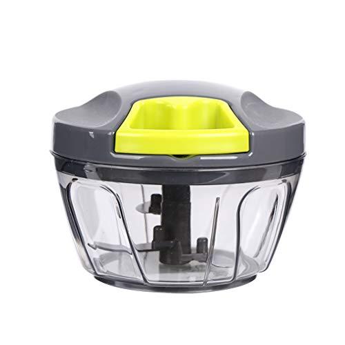 GET Plantaardige Chopper- Handmatige Voedsel Chopper Plantaardige Processor Handheld Snelle Ui Chopper Fruit Shredders Slicers
