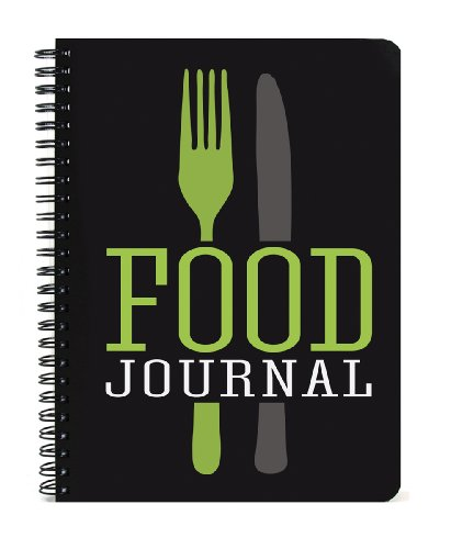 BookFactory Food Journal 5x7-Inch.,120 Pages, Thick Translucent Cover, Wire-O Binding (JOU-120-57CW-A-Food)