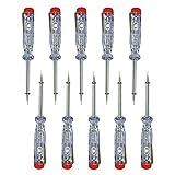 10 Stück Phasenprüfer 200-250V 60mm Stromprüfer Spannungsprüfer Schraubendreher