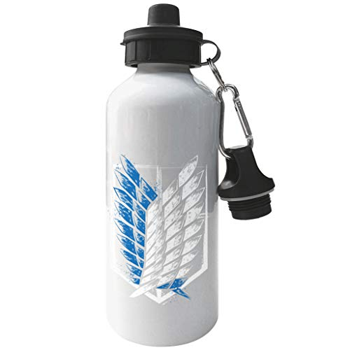 Cloud City 7 Attack On Titan Wings of Freedom Aluminium Sports Water Bottle
