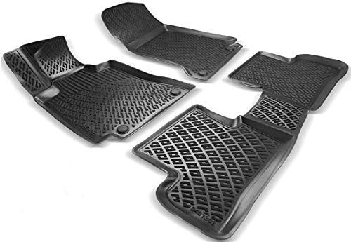 Elmasline Design 3D Gummimatten Set für Mazda CX-5 ab 2017 | Extra hoher 5cm Rand
