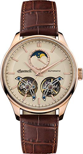Ingersoll The Chord Mens Automatic Watch I07203 with a Cream Dial and...