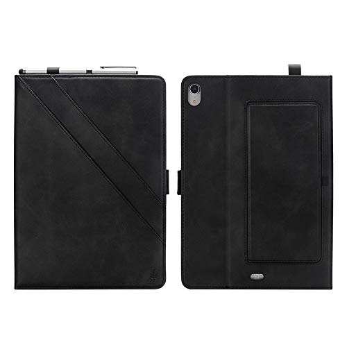 wangqianli For IPad Pro 11 Inch (2018 Release) Premium PU Leather Double Stand Tablet Case With Auto Sleep/Wake Full Cover Function (Color : Black)
