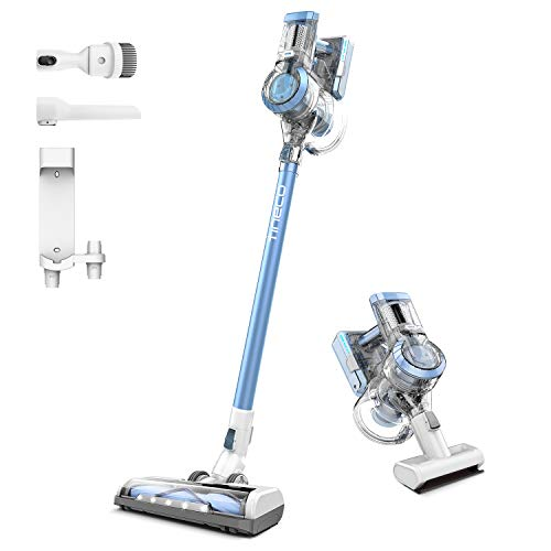 Tineco A11 Hero+ Cordless Vacuum Cleaner, 450W Rating Power Strong Suction with HEPA Filter, Handheld Stick Cordless Vacuum Wall Mounted Dual Charging for Deep Clean Hardwood Floor Pet Hair
