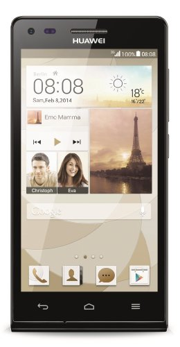 Huawei Ascend P7 mini Smartphone (4,5 Zoll (11,4 cm) Touch-Display, 8 GB Speicher, Android 4.3) schwarz