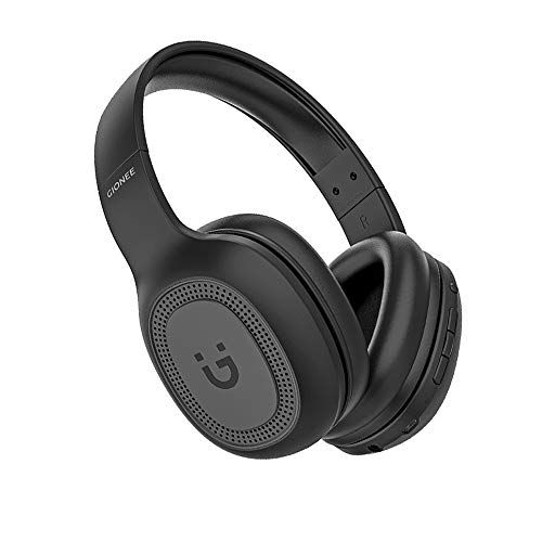 Gionee EBTHP2 Wireless Ultra-Light High Bass Stereo & 20 Hrs Playback Time Bluetooth Headset with MIC (Black, Over The Ear)