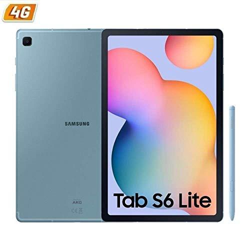 SAMSUNG Tablet Galaxy Tab S6 Lite P615 Blue - 10.4'/26.41CM - OC - 64GB - 4RAM - Android - CAM 8+5 MPX - S-Pen - 4G - Micro SD -