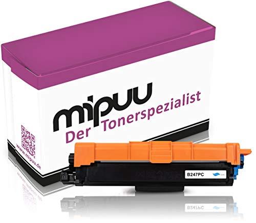 Mipuu cartucho de tóner compatible con Brother TN-247C Cian para DCP-L3550cdw DCP-L3510cdw HL-L3210cw HL-L3230cdw MFC-L3750cdw MCF-L3770cdw