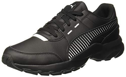 Puma Boys Future Runner L Black White Closed Shoe-8 (36963501)