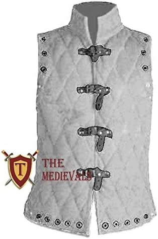 The Medieval Shop Thick Finally popular brand Padded Aketon Ar Branded goods Jacket Coat Sleeve-Less