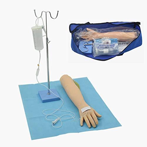 Phlebotomie-Arm-Praxis-Kit, Übungsarm-Pole-Kit, Infusions-Trainingsform, Arminfusion und intravenöses Modell (für die Praxis entworfen)