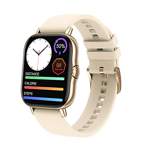 YZK Bluetooth Llamar a Smart Watch 1.78 Pulgadas Pantalla Monitor de Ritmo cardíaco Fitness Tracker DT94 SmartWatch,A
