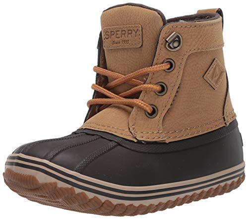 Brown Kid Boy Boots