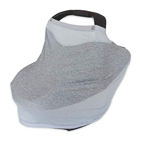 Boppy 4 and More Multi-use Cover | Pearl Light Gray | Quick Drying UPF 50+...