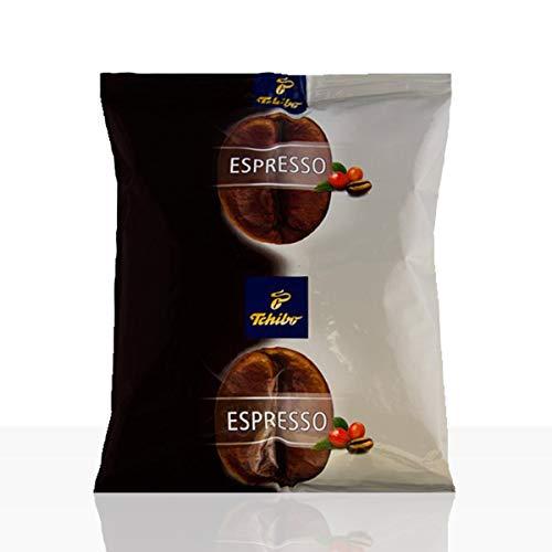 Tchibo Espresso Kaffee | Hochwertiger Kaffee aus ganzen Robusta-Bohnen im 500g Beutel | Ideal für Kaffeevollautomaten | Einzigartige Kaffeequalität von Tchibo