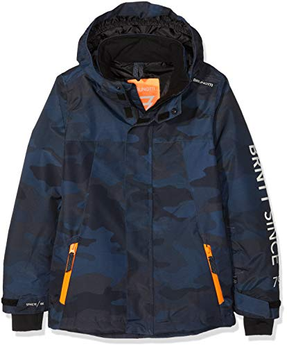 Brunotti Jungen Gullies JR Skijacke, Navy, 128