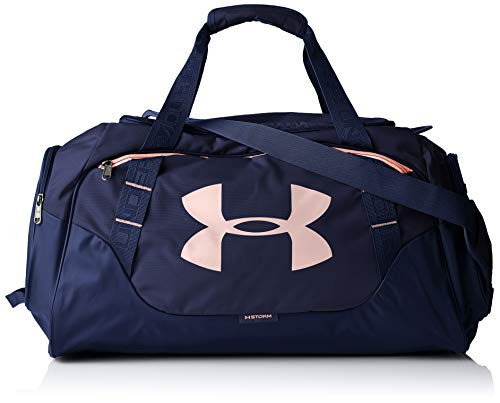 Under Armour Undeniable 3.0 Medium Duffle Bag, Midnight Navy/Midnight Navy, One Size