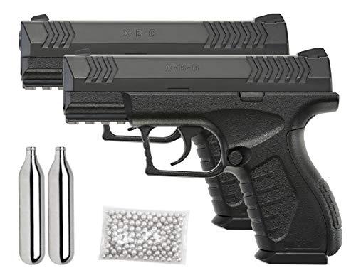 Umarex XBG .177 Caliber BB Gun Air Pistol, 2 Pack Kit