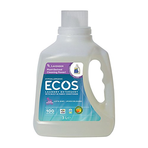 Earth Friendly Products Ecos Lavender Laundry Detergent 3.0 Litre.