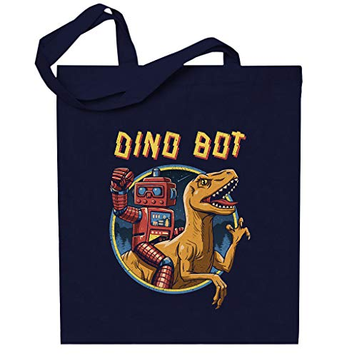 Cloud City 7 Dino Bot Velociraptor Totebag