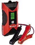 Einhell CC-BC 4 M Batterie, Tensione di Carica 6/12 V, Rosso/Nero, 3-120 Ah