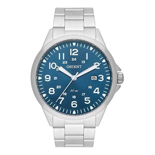 Relógio Orient Masculino Ref: Mbss1380 D2sx Casual Prateado