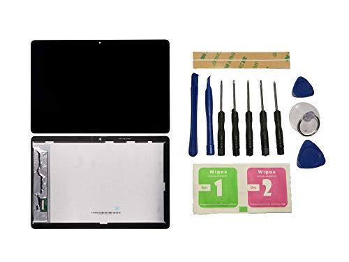 Flügel para Huawei MediaPad T5 LTE Tablet 10,1 Zoll Pantalla LCD Pantalla Negro Táctil digitalizador Asamblea Pantalla (sin Marco) de Recambio & Herramientas