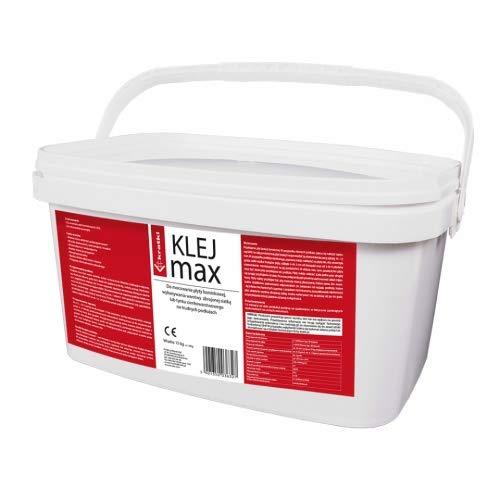 Kratki hitzebeständiger Kleber 15 kg Eimer Wärmedämmplatte Kamin Ofen