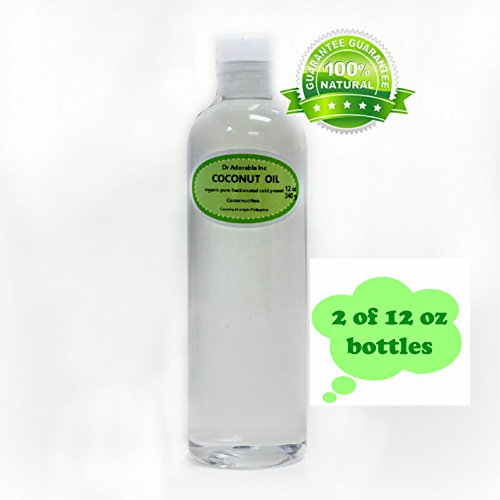 Organic Pure Fractionated Coconut Oil 24 Oz