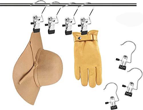 [MAODOU]すべり落ちないハンガー帽子小物モノクリップ20個ストッパー物干し洗濯バサミ防風タイプピンチステンレスクリップ
