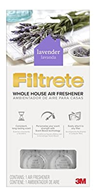 Filtrete WHAF-1-LA Whole House Air Freshener for AC Furnace Air Filter, Lavender