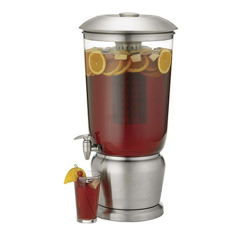 Stainless Steel Infuser Beverage Dispenser - 5 Gallon Capacity 1 Each
