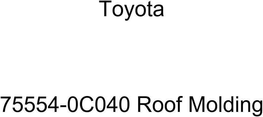 TOYOTA Genuine 75554-0C040 Roof Molding Price reduction Ranking TOP11