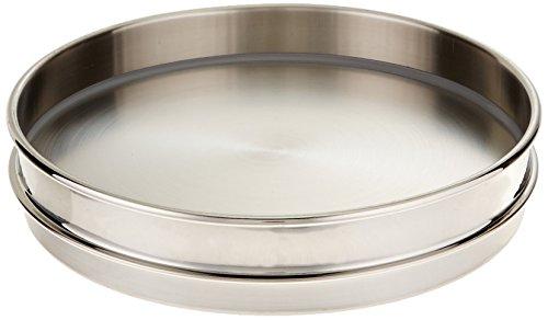 Gilson V8SHXPE roestvrij stalen zeef, pan met velg, 8