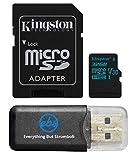 Kingston Micro SD MicroSD TF Flash Memory Card 32GB 32G Class 4 works with Black Box G1W Original B40 A118 Stealth Dashboard Dash Cam w/ Everything But Stromboli Memory Card Reader