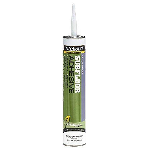 Subfloor Adhesive, Construction, White, 28