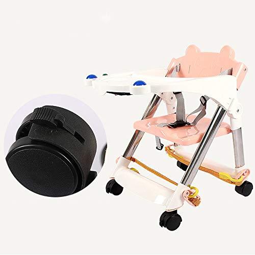 Swttppy Silla de bebé Silla de alimentación del Asiento Portable del recién Nacido Chil Trona Kids Silla de Comedor Producto Comedor Almuerzo de la Silla/Asiento del cinturón de Seguridad del asient