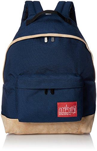 [マンハッタンポーテージ] 正規品【公式】Suede Fabric Big Apple Backpack Red 公式 Suede Navy One Size