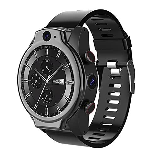 XYZK Brave Pro 4GB 64GB Smart Watch Phone Android 10 4G LTE Global GPS 1600mAh 2 Cámara 13MP IP68 5atm Smart Watch,A
