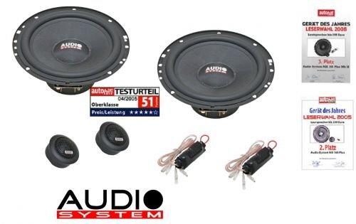 Audio System M 165 Lautsprecher Mercedes E-Klasse W210 1995-2002 Türen vorne