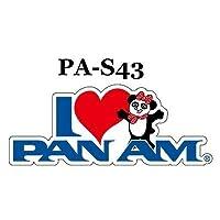 パンナム ステッカー PA-S43