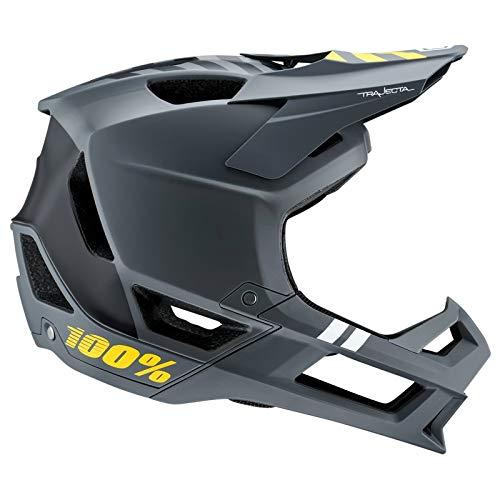 100% Trajecta Helmet Charcoal, M