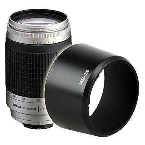 SSSabsir HB-26 Mount Lens Hood Shaded Twist-On for NIKON AF Nikkor 70-300mm f/4.0-5.6 G