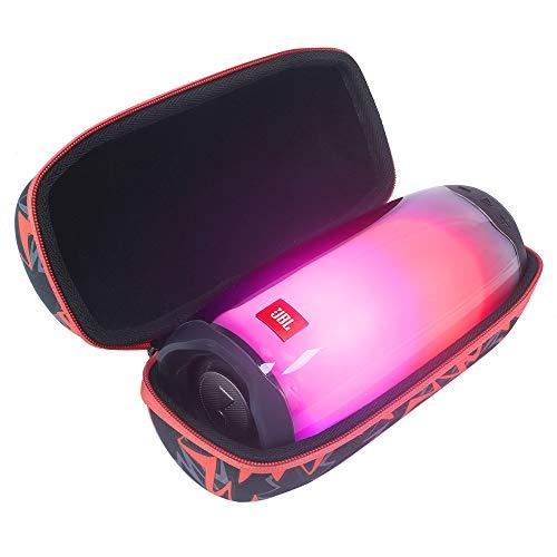 Esimen Hartschalen-Reisetasche für JBL Pulse 4, tragbarer Bluetooth-Lautsprecher, Zubehör, Tragetasche, Schutzbox, Orange