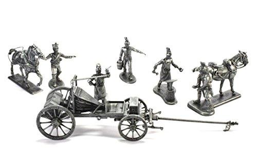 Atlas Diorama Große Napoleonische Armee Feldschmiede Metall Soldat Napoleonische Kriege 60 mm 1:32 MHSP