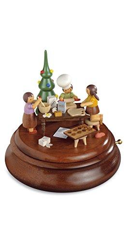Boîte à musique électronique, Rolf Zuchowski boulangerie de Noël, Erzgebirge originale de Muller Seiffen