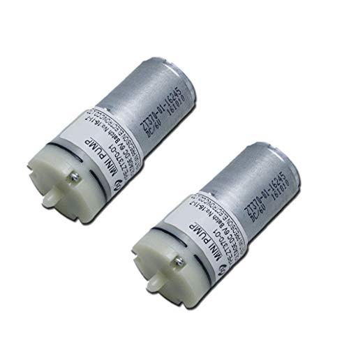 Mini-Luftpumpenmotor DC 6 V für Sauerstofftank, zirkulierend, 370 Mikro-Luftpumpe für Blutdruckmessgerät (2 Stück)