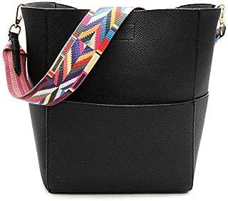 Fashion Handbags Women Bags Shoulder Bag Female Vintage Satchel Bag Pu Leather Crossbody Shoulder Bags DJB162 black